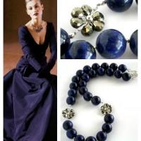 edlora lapis lazuli pyrite necklace Collage