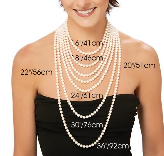 necklace lengths 1a