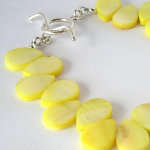 yellow mop bracelet da