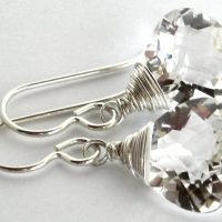 rock crystal quartz lana sterling wrap top earrings 0417 1a