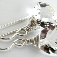 rock crystal quartz lana sterling wrap top earrings 0417 a