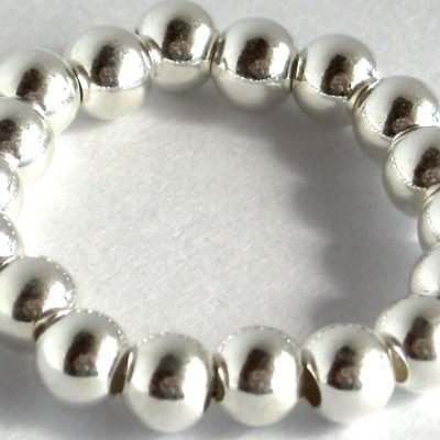 sterling bead ring 4mmda