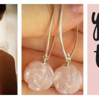 rose-quartz-carved-flower-long-sterling-earrings-collage
