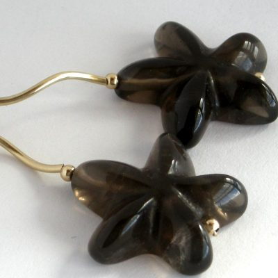 smoky-quartz-flower-gold-twirl-drop-earrings-da